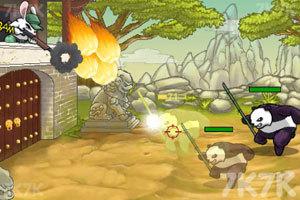 《兔子大战熊猫》游戏画面5
