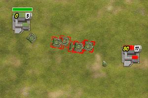 《坦克部队防卫战》游戏画面1