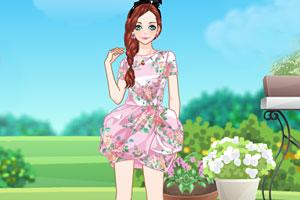 《花园里的美女》游戏画面1