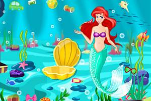 《爱丽儿海底大清洁》游戏画面1