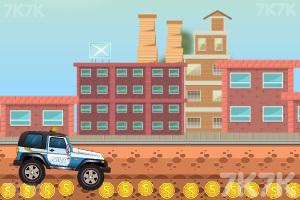 《驾驶警车追小偷》游戏画面3
