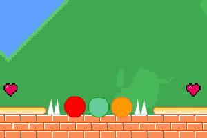 《勇敢的球球们三人版》游戏画面1
