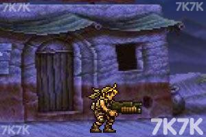 《合金弹头之沙漠孤城无敌版》游戏画面3