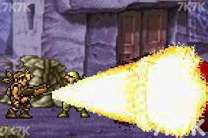 《合金弹头之沙漠孤城无敌版》游戏画面6