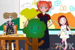《漂亮的艾丽老师》游戏画面1
