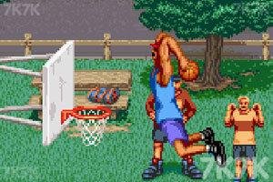 《街头篮球街机版》游戏画面1