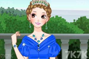 《漂亮的公主发型》游戏画面1