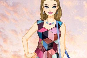 《时尚拼接》游戏画面2