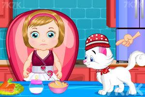 《麦丽莎照顾宠物猫咪》截图2