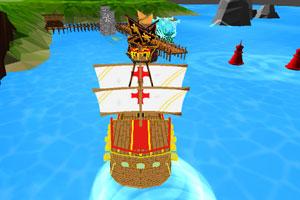 《西方战船停靠》游戏画面1