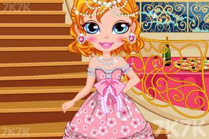 《设计你的舞会礼服》游戏画面1