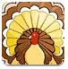 感恩节给火鸡上色