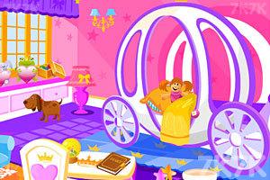 《漂亮公主打扫房间》截图1