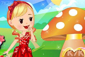 《童话中的小女孩》游戏画面3