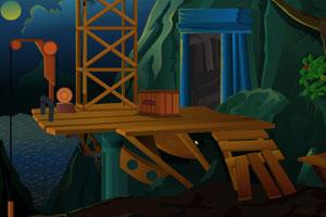 《黑夜逃离洞穴》游戏画面1