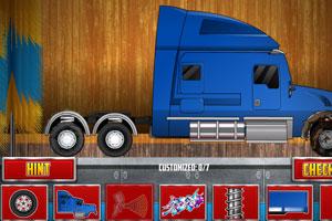 改装大卡车
