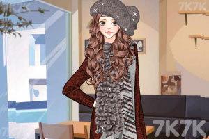 《戴帽子的美女》游戏画面2