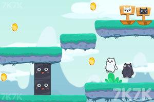 《双色猫大冒险2》游戏画面2