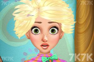 《长发公主的百变发型》游戏画面4