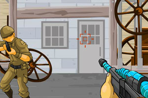 《疯狂射击训练》游戏画面1