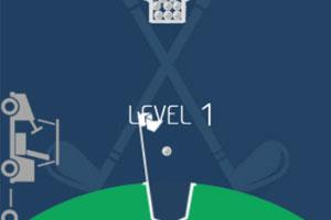 《100球高尔夫》游戏画面1