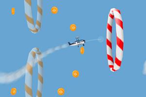 《飞翔的小飞机无敌版》游戏画面1