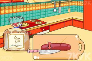 《米娅做奶酪热狗》游戏画面2