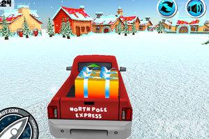 《送圣诞礼物的卡车》游戏画面5