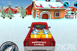 《送圣诞礼物的卡车》游戏画面3