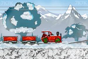 《开火车的圣诞老人》截图1