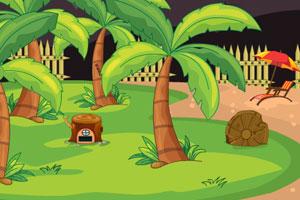 《逃离圣诞老人花园》游戏画面1