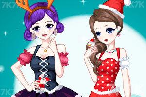 《圣诞好姐妹》游戏画面1
