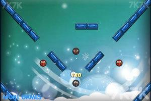 《雪球打火球》游戏画面3