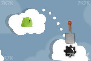 《云端小怪吃萝卜》游戏画面2
