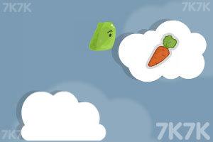 《云端小怪吃萝卜》游戏画面3