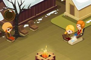《冬季温泉馆》游戏画面1