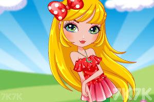 《可爱的西瓜女孩》游戏画面2