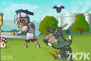 《城堡守卫军无敌版》游戏画面1