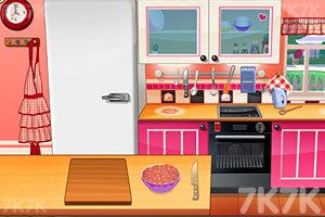 《莎拉做樱桃蛋糕》游戏画面4