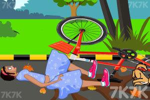 《佐伊骑车摔倒》游戏画面5