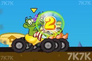 《鳄鱼小顽皮赛车》游戏画面3