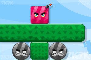 《炸飞彩方块2015》游戏画面3
