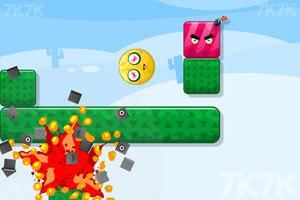 《炸飞彩方块2015》游戏画面4