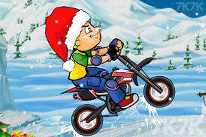 《冰雪摩托挑战》游戏画面3