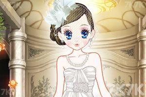 《森迪公主的婚纱装扮》游戏画面1