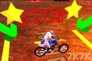 《疯狂特技摩托3D》游戏画面4
