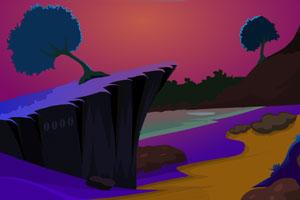 《寻找红宝石逃脱》游戏画面1