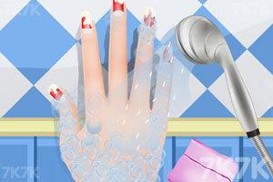 《时尚的指甲》游戏画面2