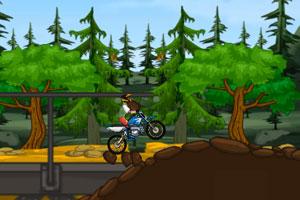 《摩托车山地挑战赛》游戏画面1