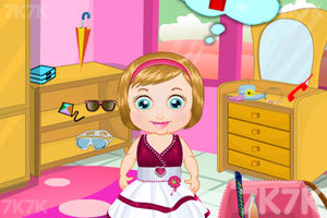 《麦丽莎宝贝的沙滩之旅》游戏画面5